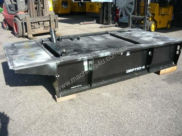 MACHINERY SKID BASE FUEL TANK/300LITRES