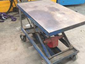 Hydraulic Blue Heavy Duty Grata Trolley 500Kg #G