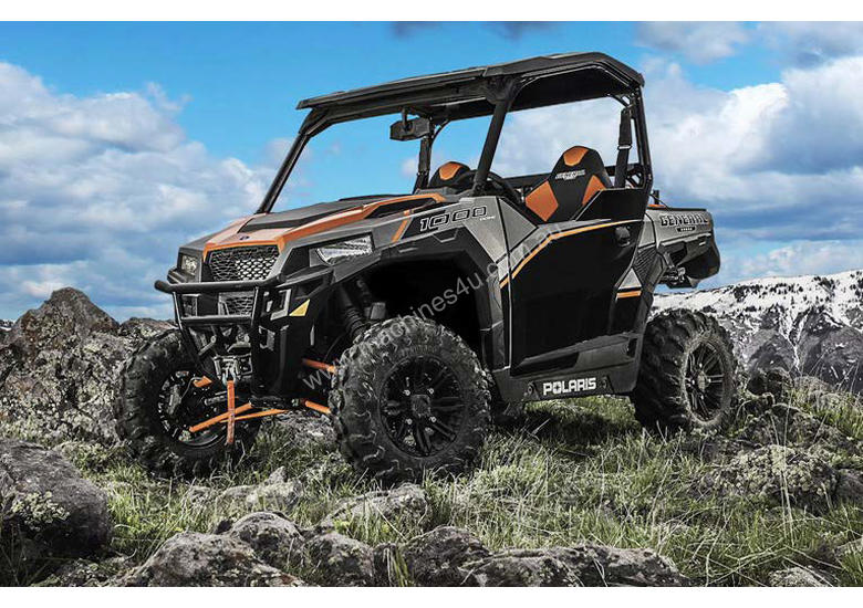 New Polaris General 1000 EPS Deluxe Utility vehicles in