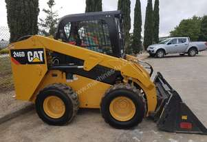 Caterpillar USED CAT 246D WITH LOW HOURS