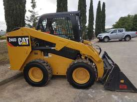 USED CAT 246D WITH LOW HOURS - picture0' - Click to enlarge