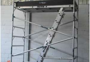 Mobile Aluminium Scaffold 0.7m x 2.5m x 3.0m High