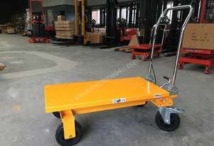 200kg Hydraulic Scissor Lift Trolley/Table Dimension 1000mm x 500mm