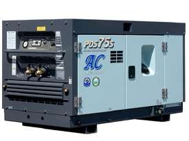 AIRMAN PDS75SC-5C1 75cfm Portable Diesel Air Compressor w/ Aftercooler - picture15' - Click to enlarge