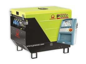 Pramac 6kVA AVR Silenced Auto Start Diesel Generator + AMF - picture5' - Click to enlarge