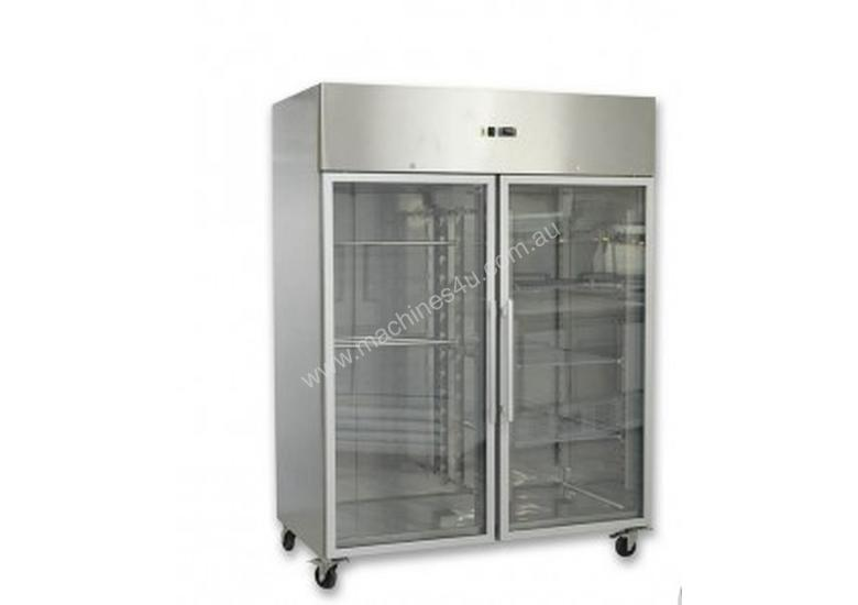 F.E.D. - GN1200TNG - GRAND ULTRA Two Glass Doors Upright Fridge 1200L