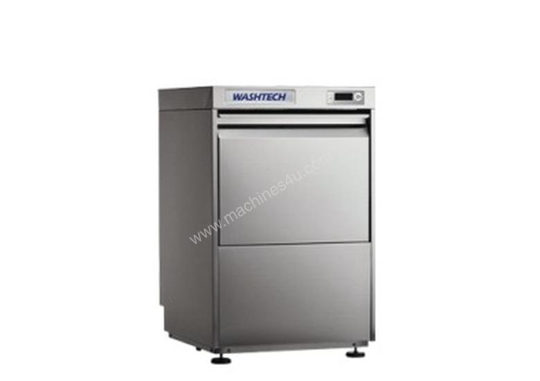 Washtech UL - Fully Insulated Premium Undercounter Glasswasher / Dishwasher - 500mm Rack
