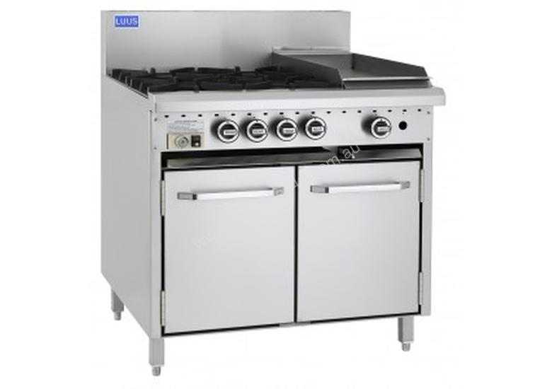 Luus Essentials Series 900 Wide Oven Ranges 6 burners & oven