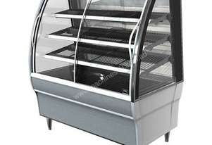 FPG 4H12-CU-FF 4000 Series Heated Fixed Front Food Cabinet - 1200mm