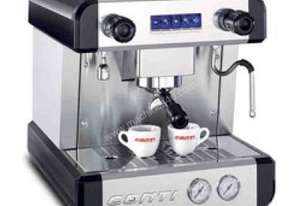 Boema Conti BCM100-1 CC100 Tall Cup 1 Group Volumetric Espresso Coffee Machine