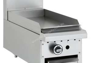 Luus BCH-3C-B Gas Fryer with 300mm Benchtop Chargrill Essentials Series