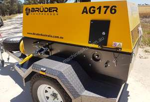 Bruder Kompressor - new high quality 176CFM Portable Diesel Air Compressors - built to last!