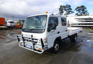 2009 Mitsubishi Fuso Canter Crew Cab Tray Back Truck - In Auction