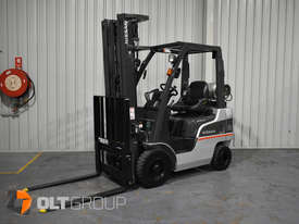 Nissan P1F 1.8 tonne forklift Sydney 5.5m Lift Height LPG  - picture1' - Click to enlarge