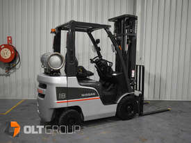 Nissan P1F 1.8 tonne forklift Sydney 5.5m Lift Height LPG  - picture2' - Click to enlarge