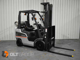 Nissan P1F 1.8 tonne forklift Sydney 5.5m Lift Height LPG  - picture3' - Click to enlarge