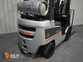 Nissan P1F 1.8 tonne forklift Sydney 5.5m Lift Height LPG  - picture6' - Click to enlarge
