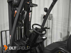 Nissan P1F 1.8 tonne forklift Sydney 5.5m Lift Height LPG  - picture9' - Click to enlarge