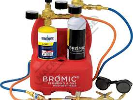 1811167K Professional Oxyset Portable Brazing & Welding System Package Deal Includes Disposable Gas  - picture0' - Click to enlarge