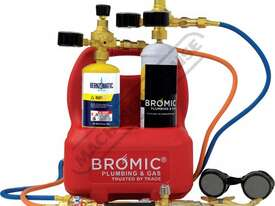 1811167K Professional Oxyset Portable Brazing & Welding System Package Deal Includes Disposable Gas  - picture2' - Click to enlarge