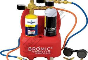 1811167K Professional Oxyset Portable Brazing & Welding System Package Deal Includes Disposable Gas