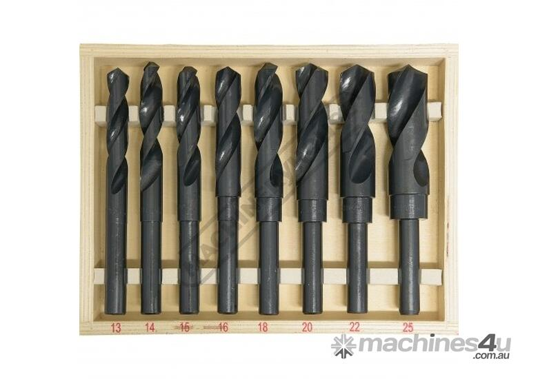 D117 Metric HSS Reduced Shank Drill Set Ø13-Ø25mm 8 Piece