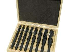 D117 Metric HSS Reduced Shank Drill Set Ø13-Ø25mm 8 Piece - picture2' - Click to enlarge