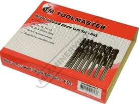 D117 Metric HSS Reduced Shank Drill Set Ø13-Ø25mm 8 Piece - picture5' - Click to enlarge