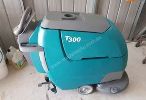 battery walk behind auto floor scrubber