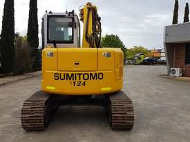 SUMITOMO SH75X 8T EXCAVATOR WITH OFFSET BOOM, HITCH AND BUCKETS. 4150 HOURS - picture2' - Click to enlarge