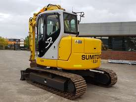 SUMITOMO SH75X 8T EXCAVATOR WITH OFFSET BOOM, HITCH AND BUCKETS. 4150 HOURS - picture3' - Click to enlarge