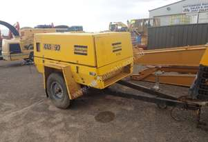Atlas Copco XAS90  Trailer Mounted Air Compressor