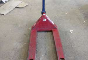 Pilot brand, model: L20 (2500kg) hand pallet trolley in good cond