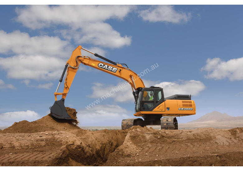 CASE CX300C CRAWLER EXCAVATORS