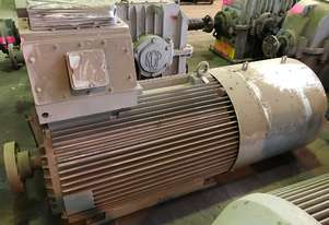 500 kw 670 hp 4 pole 415 volt 355 frame AC Electric Motor