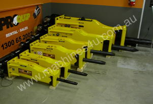 Impact Construction Equipment 30 - 40T HYDRAULIC BREAKER