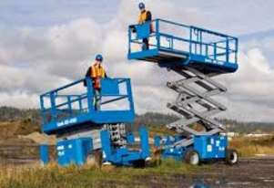 Genie All Terrain Scissor Lifts
