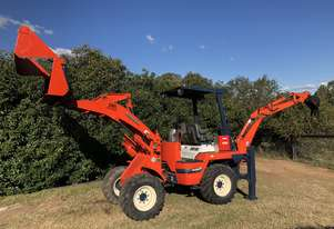 R420 B Backhoe Wheel Loader 4in1 Quick Hitch Piped for Auger