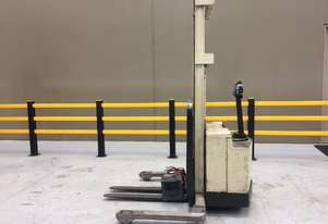 Electric Forklift Walkie Stacker W Series 1983 Warranty and Crown Services included