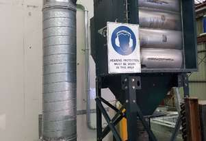 CAMFIL FARR REVERSE PULSE DUST COLLECTION SYSTEM FOR FOOD PROCESSING INDUSTRY-FLOUR etc Made in USA