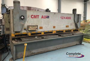 Used CMT 12mm x 4000mm VR guillotine