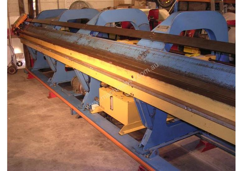 Used Machine Makers Pan Brakes & Folders for sale - 6 Meter LONG ...