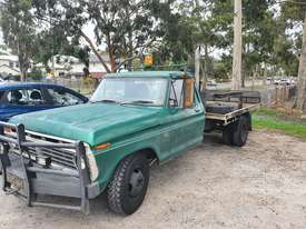 1975 F350 Dual Wheel Cleveland 351 Tilt Tray - picture0' - Click to enlarge