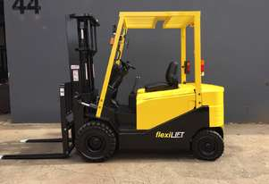 Hyster J2.50HEX 2.5 Ton Electric Container Mast Counterbalance Forklift - Fully Refurbished