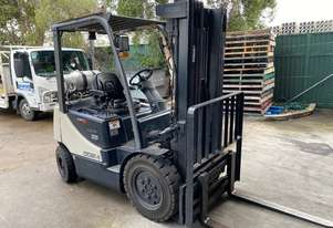 Used Crown PRO 5 counterbalance forklift