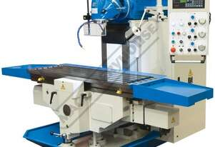 BM-1600 Heavy Duty Universal Milling Machine Table Travel: (X) - 1200mm (Y) - 700mm (Z) - 500mm Incl