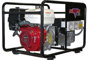 8kVA Dunlite DGUH7S-2-RCD Honda Powered with RCD Outlets & Sturdy Frame