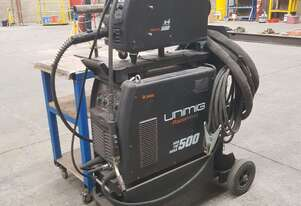 Unimig 500 welding machine