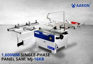 Aaron Powerful 1600 mm Single-Phase 230V Sliding Table Saw | 5HP, 3.75kW Panel Saw | MJ-16KB