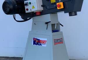 SM-GRIT150. Heavy Duty Industrial Belt Linisher. Steelmaster 150mm x 2000mm Belt Size